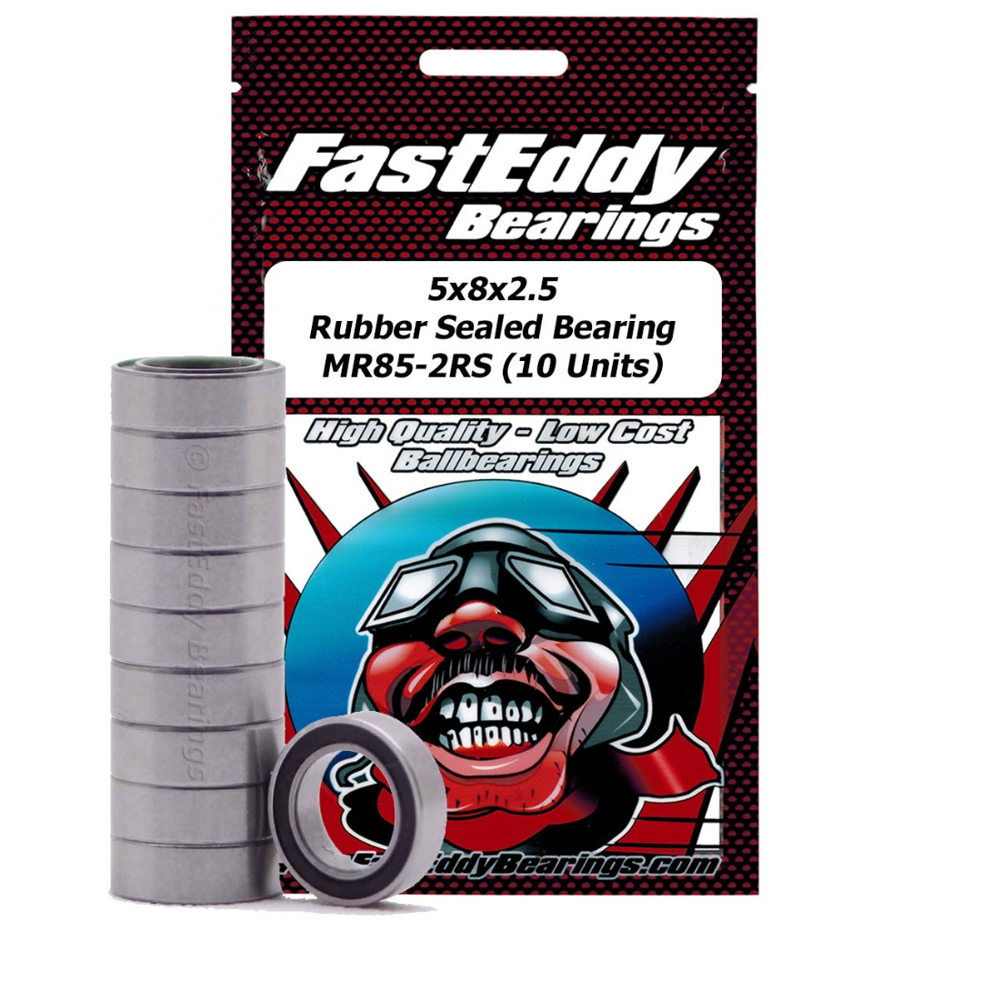 Fast Eddy Traxxas 5114 Rubber Sealed Replacement Bearing 5x8x2.5