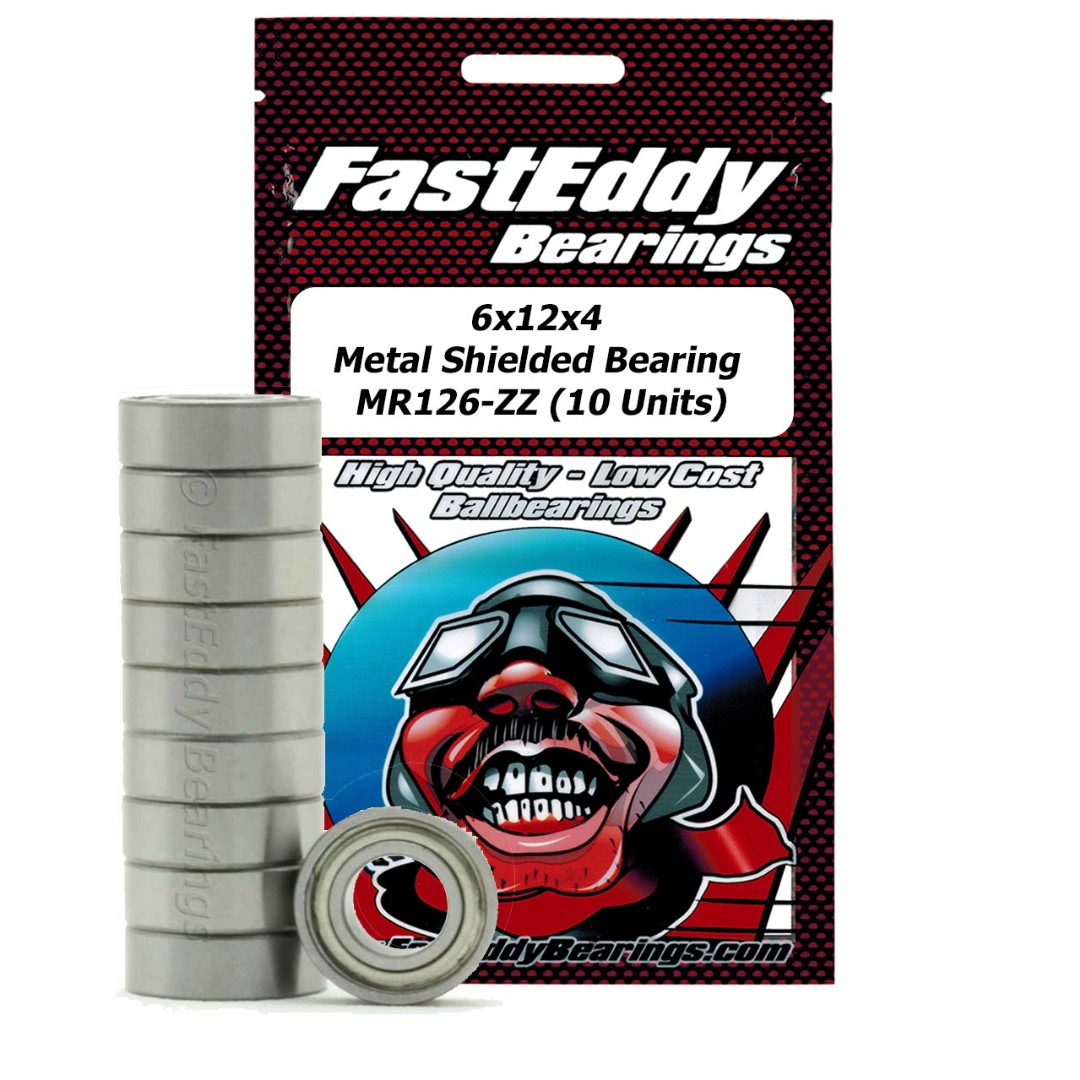 Fast Eddy Traxxas 4614 Metal Shielded Replacement Bearing 6x12x4