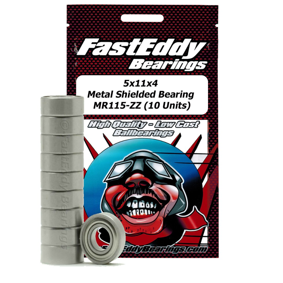 Fast Eddy Traxxas 4611 Metal Shielded Replacement Bearing 5x11x4