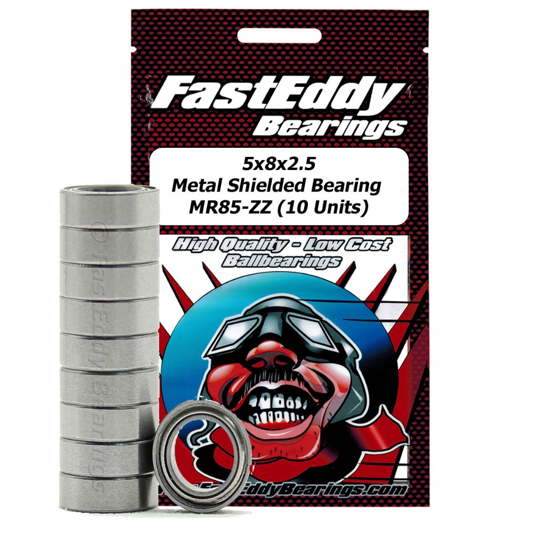 Fast Eddy Traxxas 2728 Metal Shielded Replacement Bearing 5x8x2.