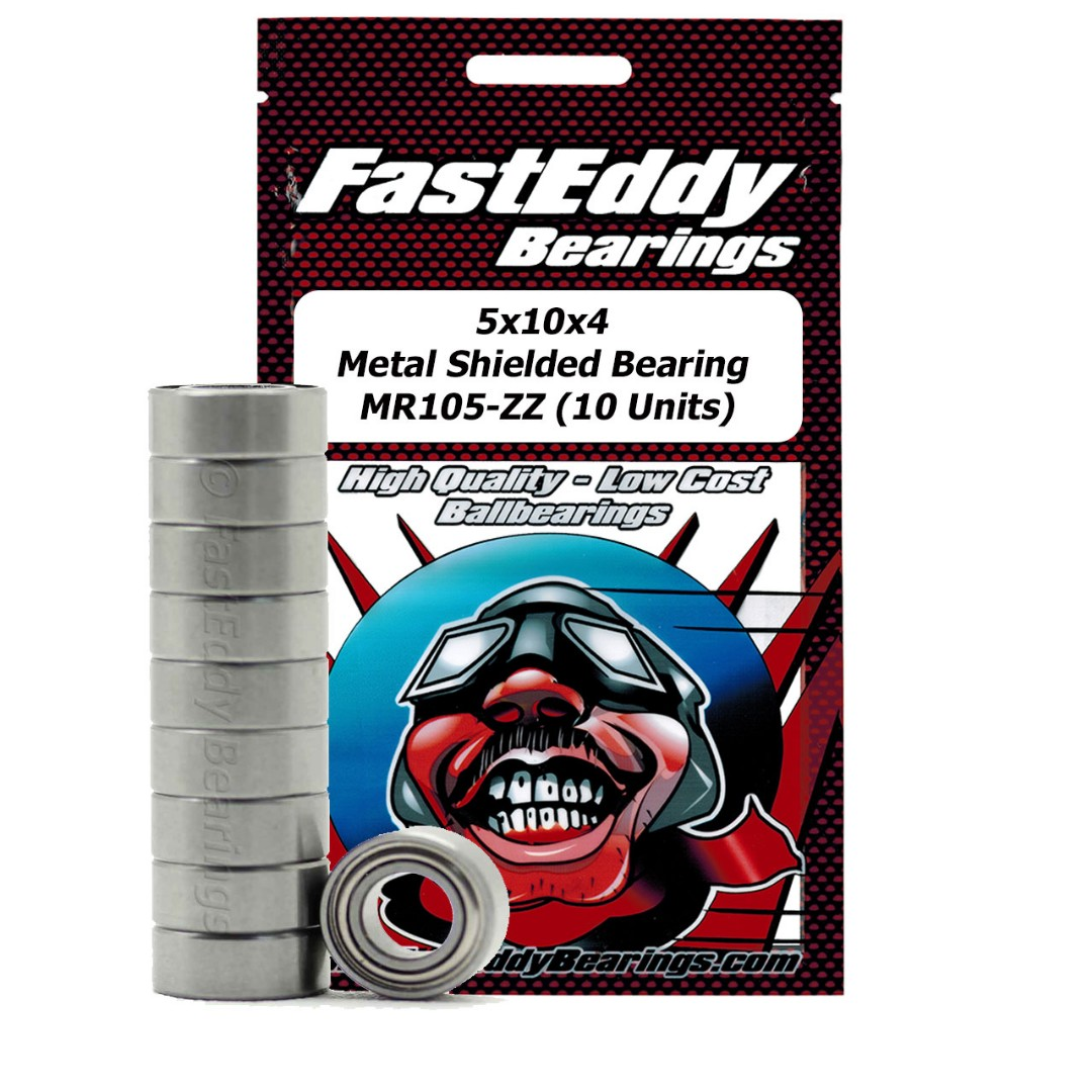 Fast Eddy Traxxas 4609 Metal Shielded Replacement Bearing 5x10x4