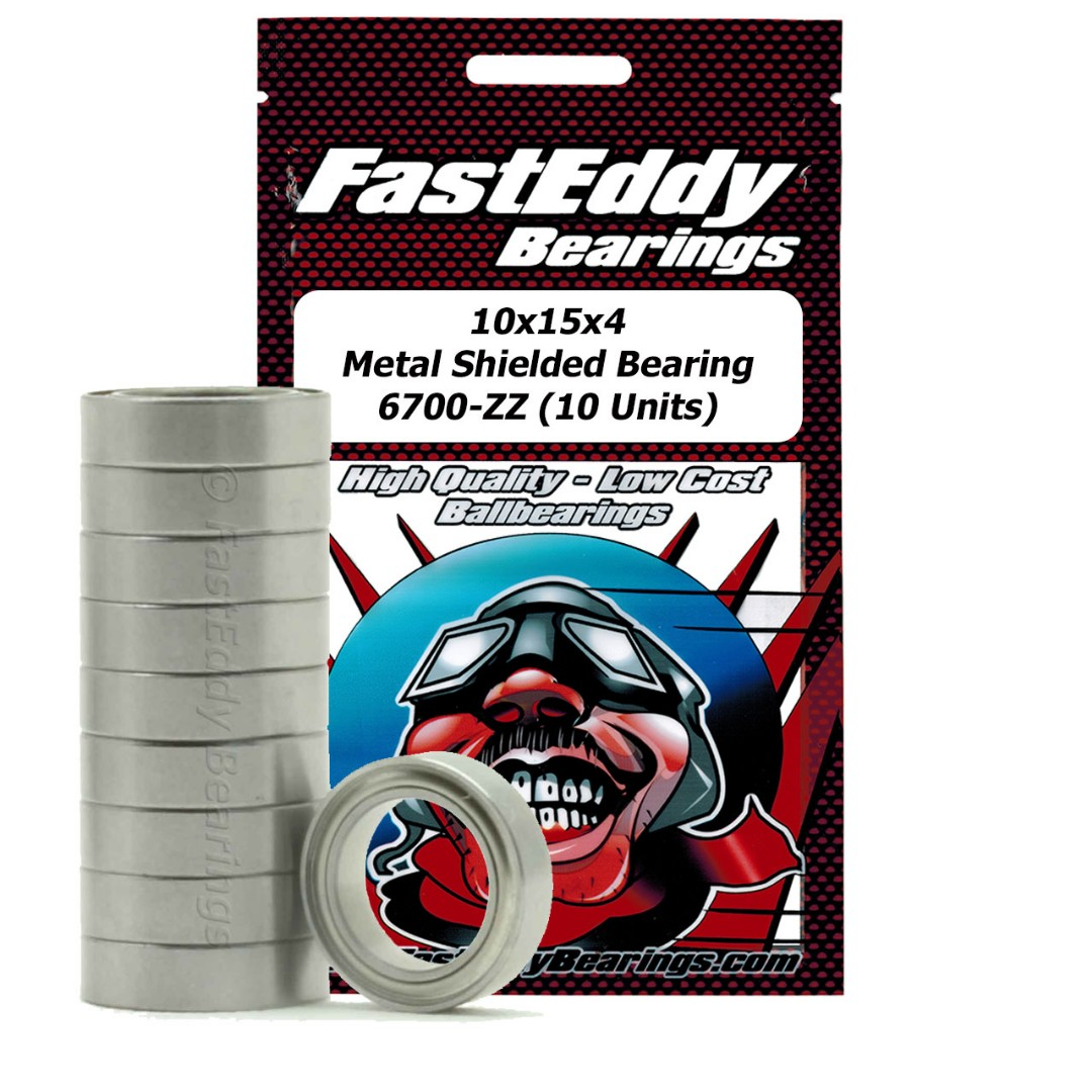 Fast Eddy Traxxas 4612 Metal Shielded Replacement Bearing 10x15x