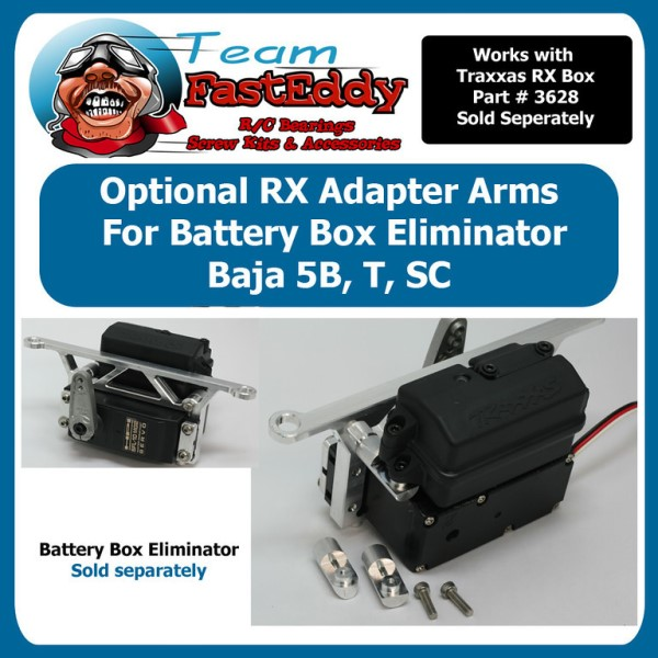 Fast Eddy Batery Box Eliminator RX Adapter