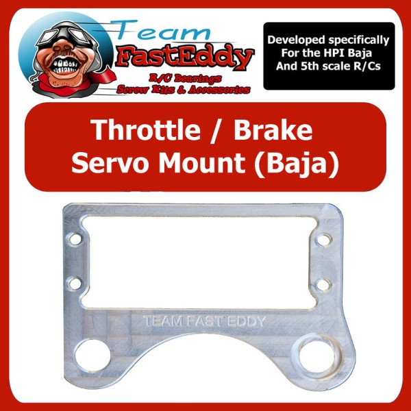 Fast Eddy Throttle / Brake Servo Mount