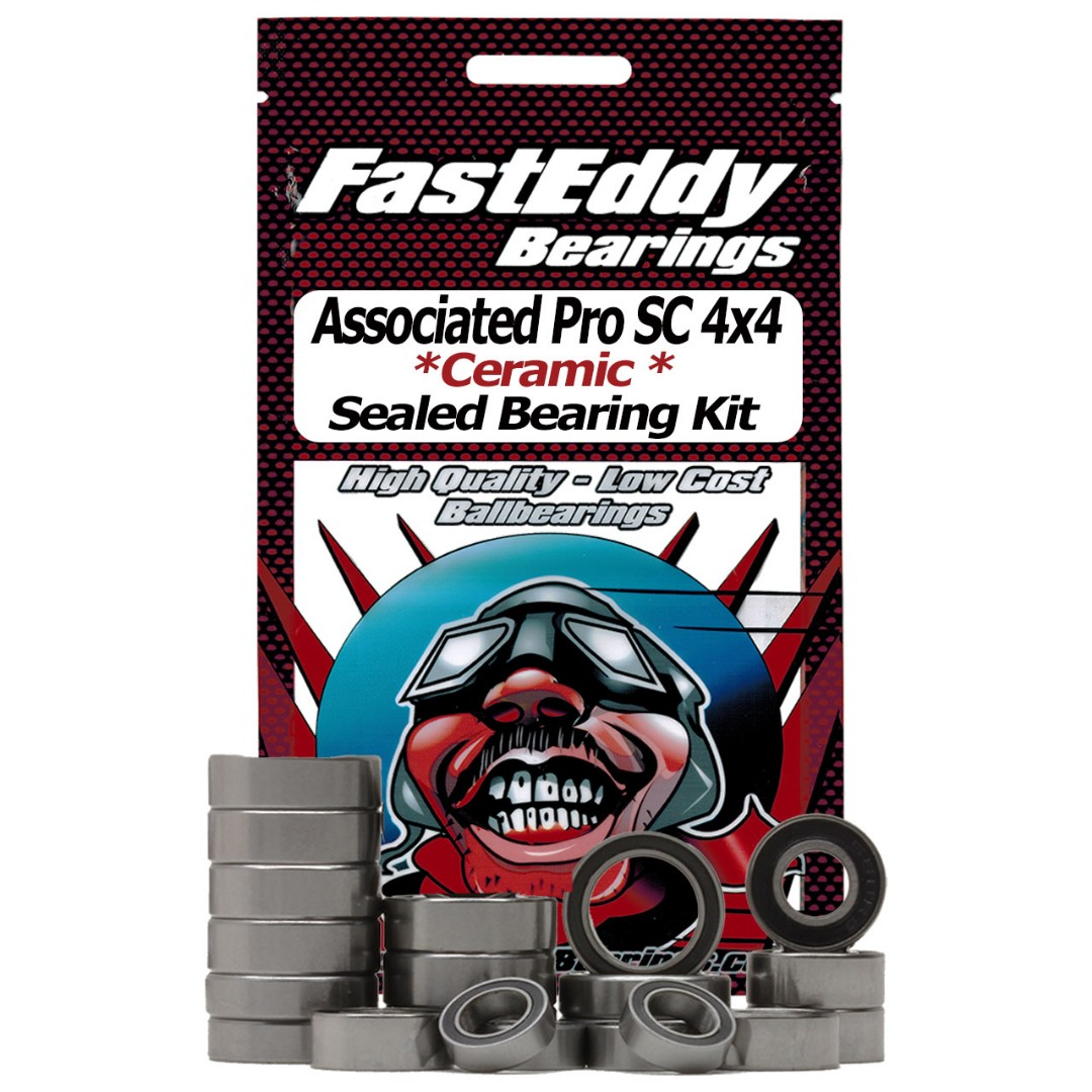 Fast Eddy Associated Pro SC 4x4 Short Course RTR Ceramic Rubber