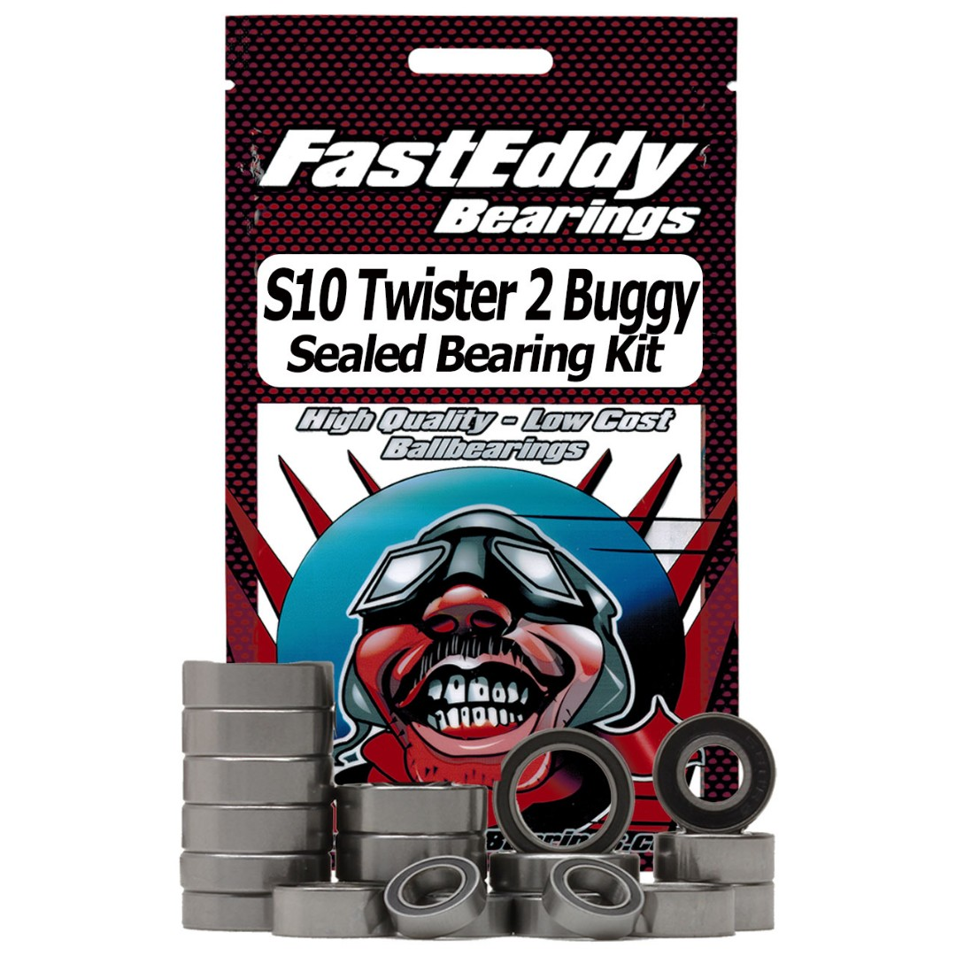 Fast Eddy LRP S10 Twister 2 Buggy Sealed Bearing Kit