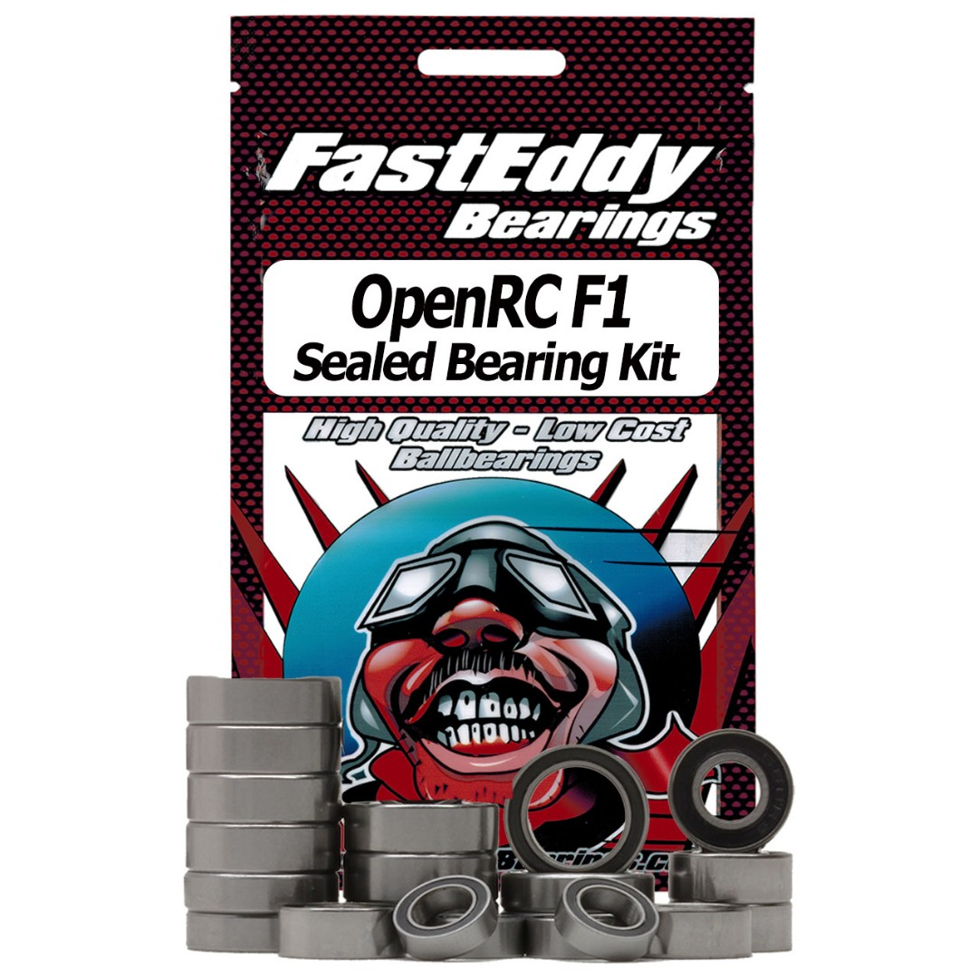 Fast Eddy OpenRC F1 Sealed Bearing Kit