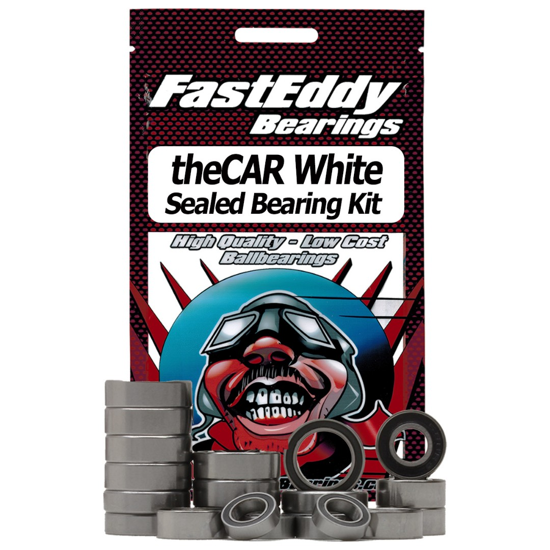 Fast Eddy JQ Products theCAR White Sealed Bearing Kit