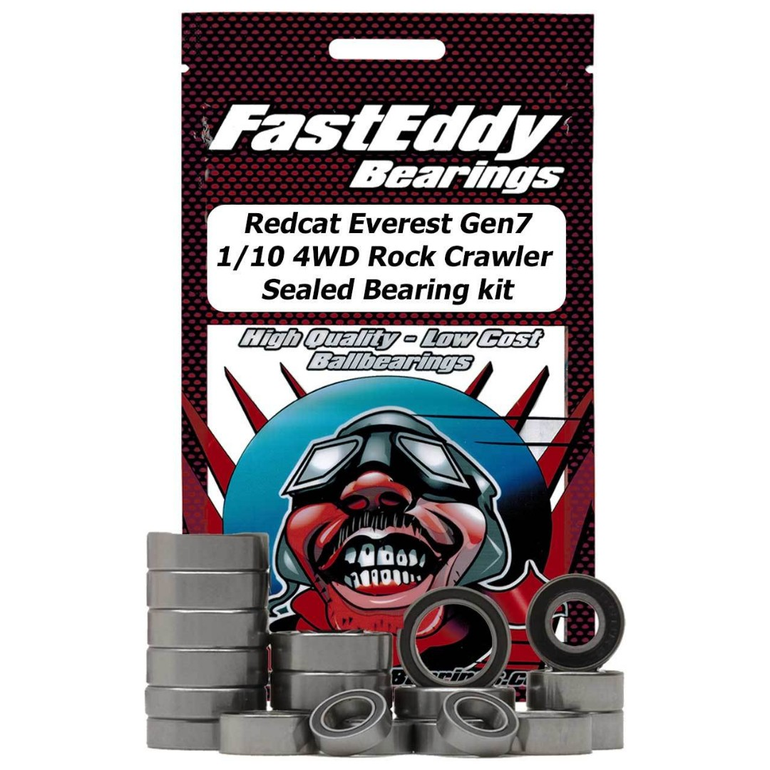 Fast Eddy Redcat Everest Gen7 1/10 4WD Rock Crawler Sealed Beari