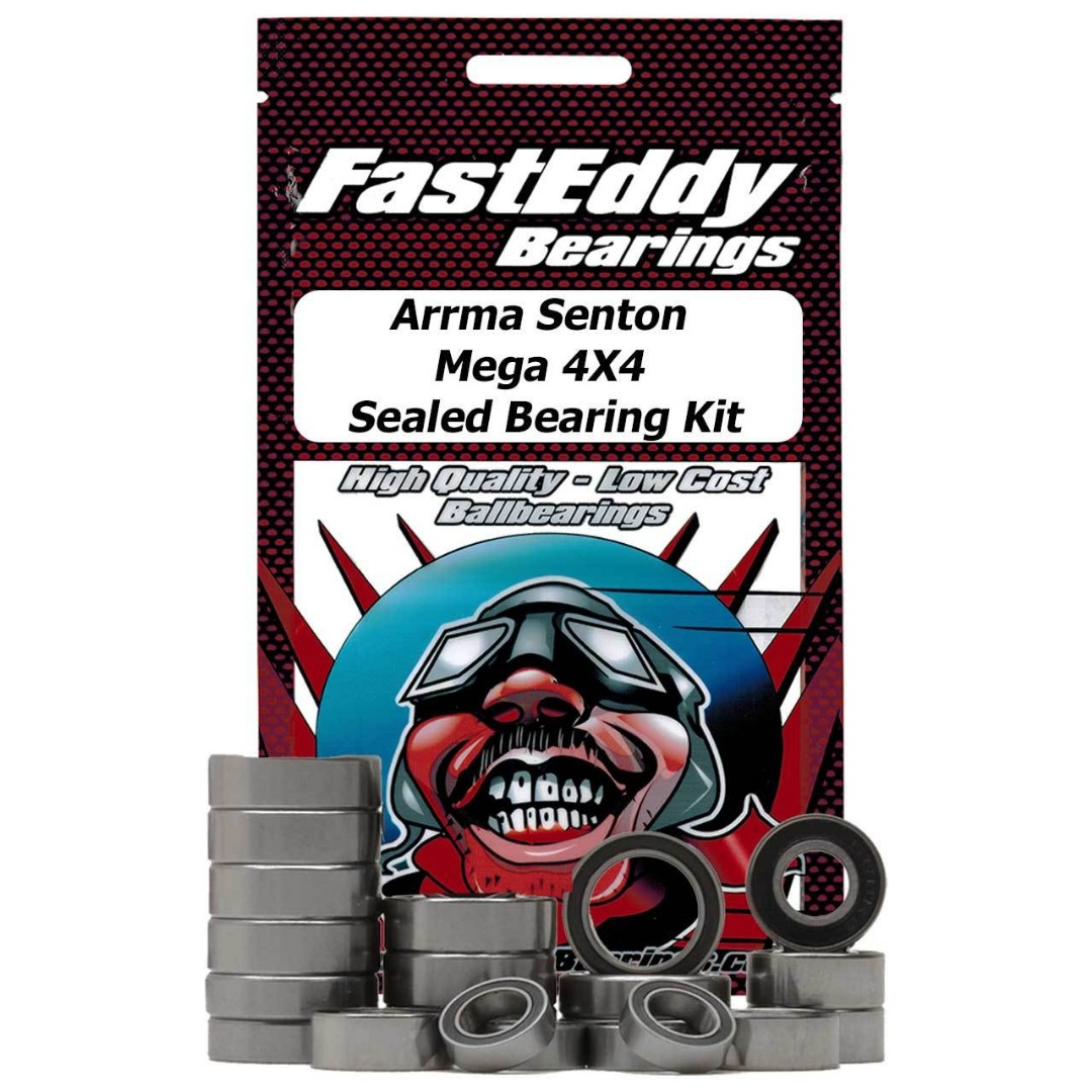 Fast Eddy Arrma Senton Mega 4X4 Sealed Bearing Kit