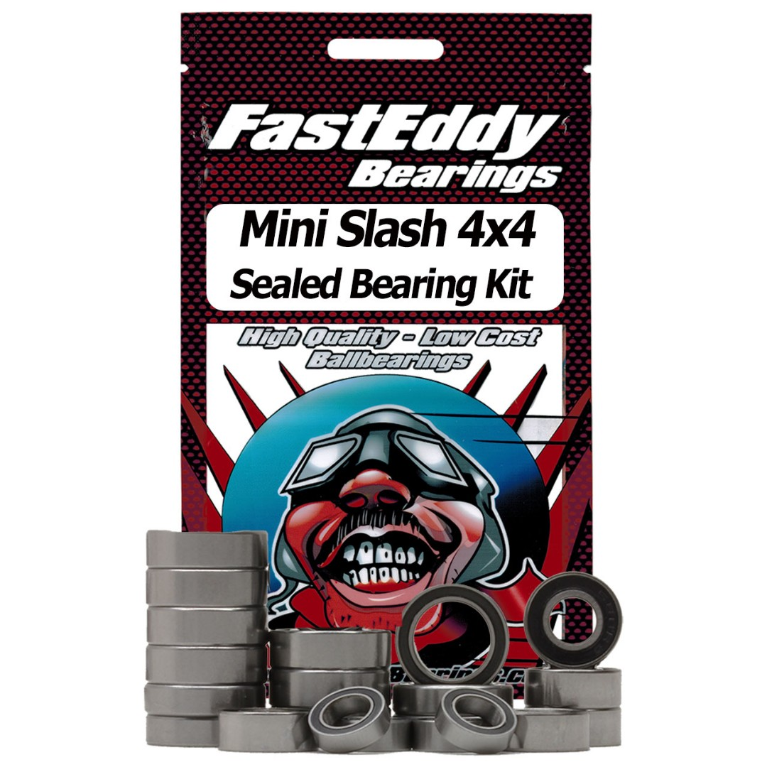 Fast Eddy Traxxas 1/16th Mini Slash 4x4 Sealed Bearing Kit