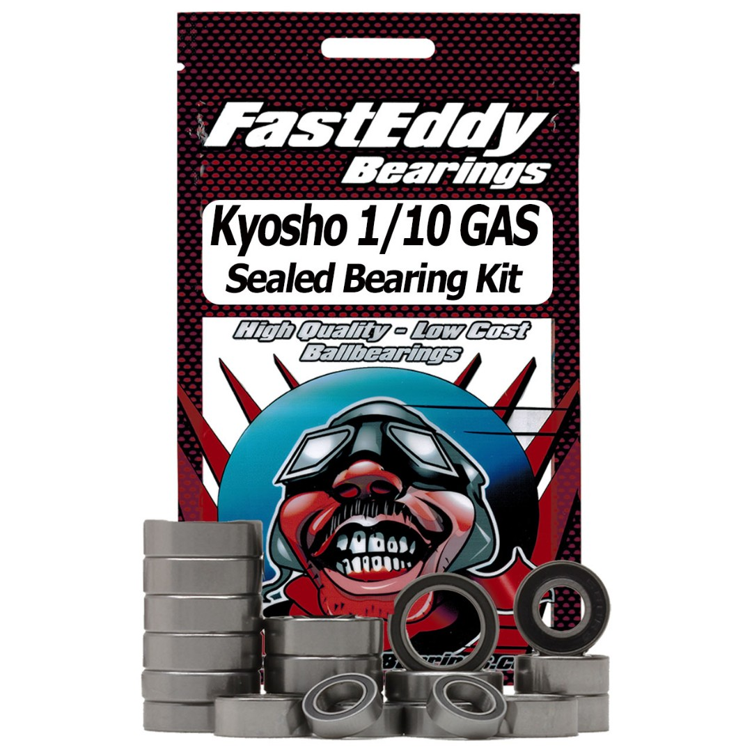 Fast Eddy Kyosho 1/10 GAS Sealed Bearing Kit