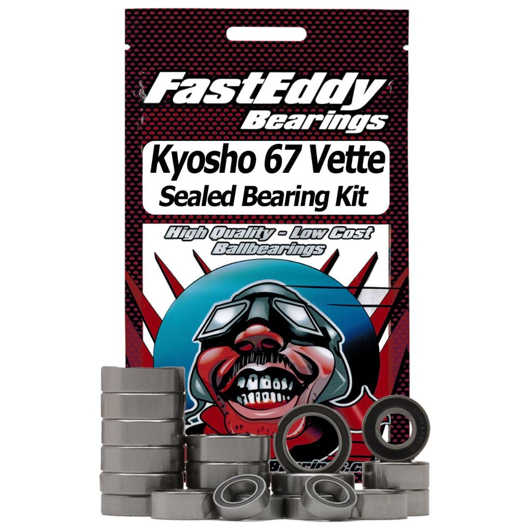 Fast Eddy Kyosho 67 Vette Sealed Bearing Kit