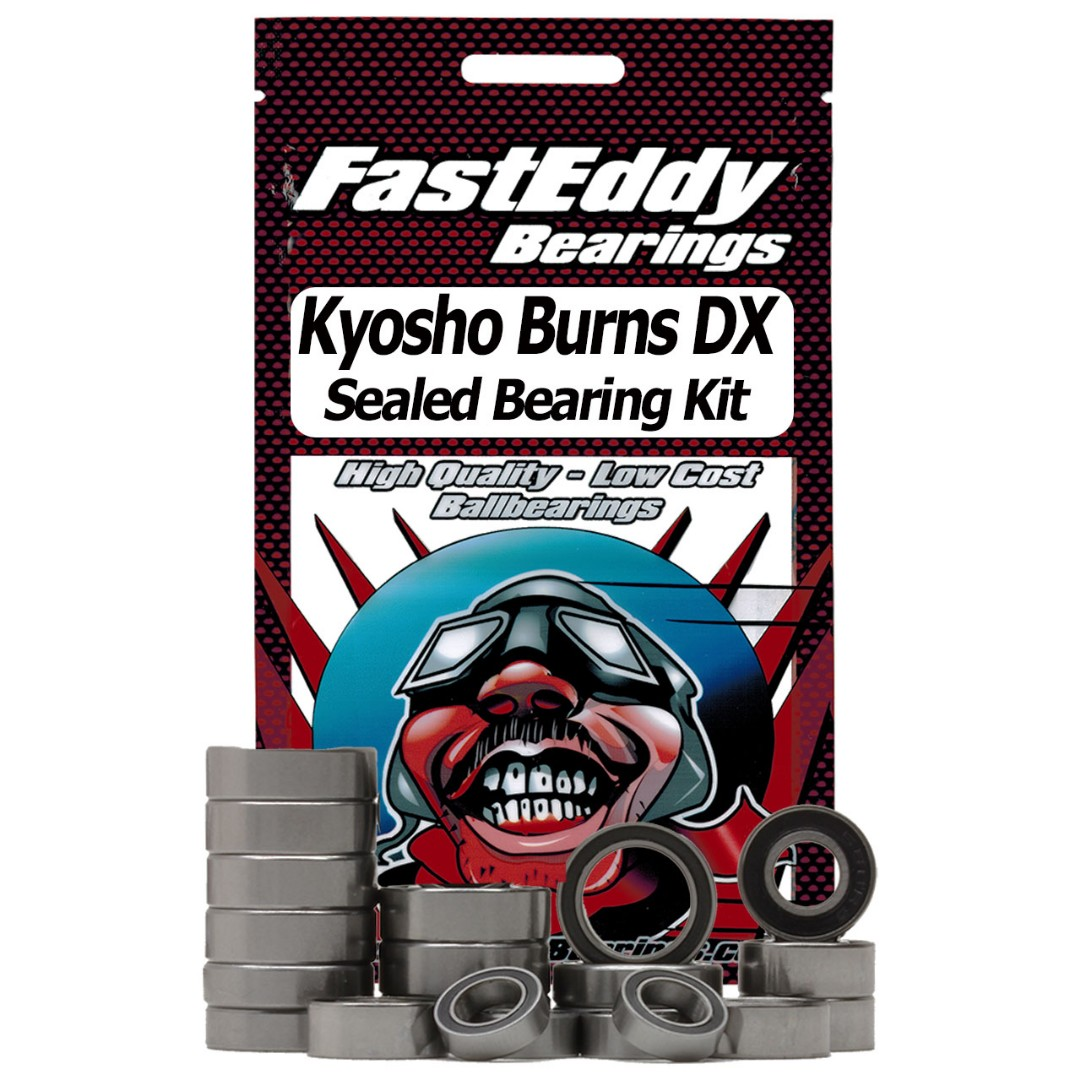 Fast Eddy Kyosho Burns DX Sealed Bearing Kit