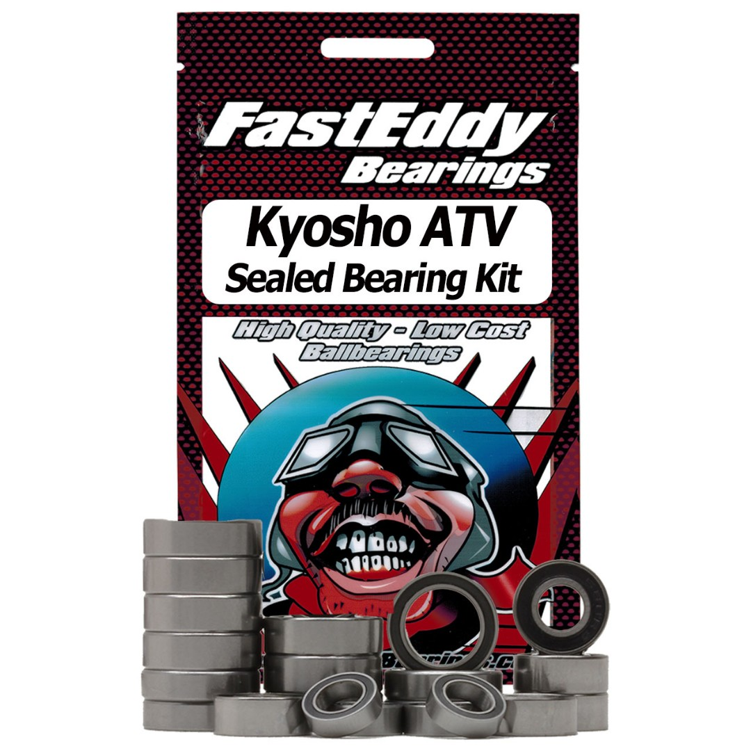 Fast Eddy Kyosho ATV Sealed Bearing Kit