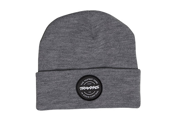 Traxxas Token Fold Beanie Youth Grey