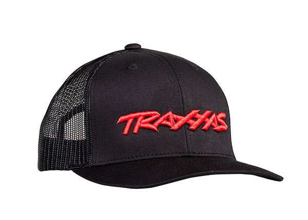 Traxxas Logo Hat Curve Bill Black