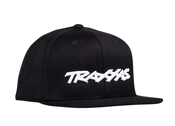 Traxxas Snap Hat Flat Bill Black