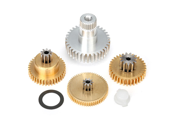 Traxxas Gear set, metal (for 2085 & 2085X servos)