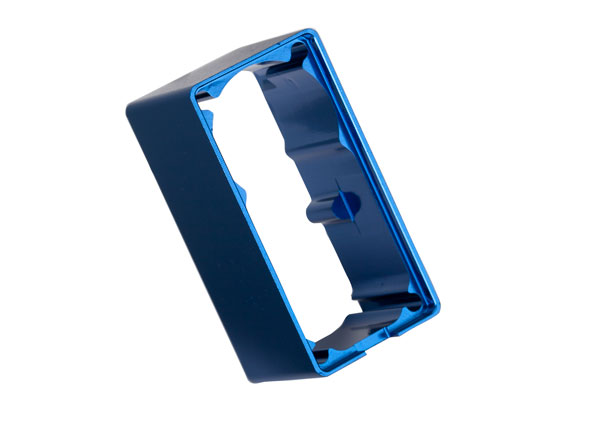 Traxxas Servo case, aluminum (blue-anodized) (middle) (for 2250