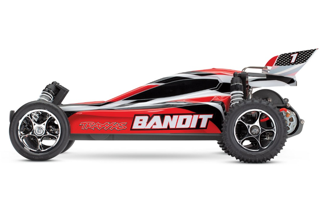 Traxxas Bandit 1/10 RTR Buggy RedX