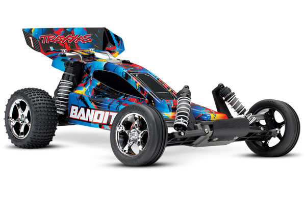Traxxas Bandit 1/10 RTR Buggy Rock and Roll