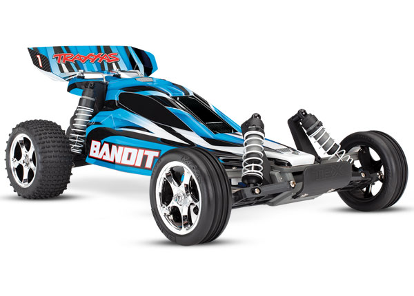 Traxxas Bandit 1/10 RTR Buggy Blue