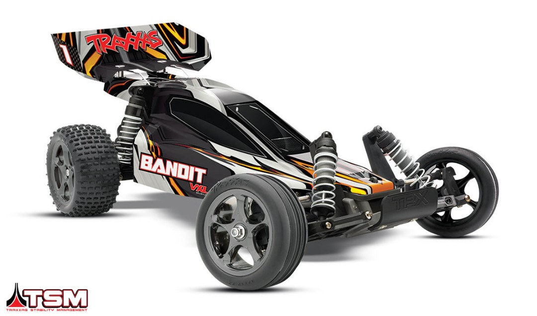 Traxxas Bandit VXL Brushless 1/10 RTR 2WD Buggy Black