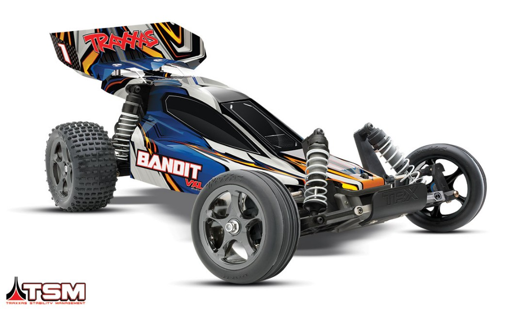 Traxxas Bandit VXL Brushless 1/10 RTR 2WD Buggy Blue