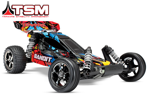 Traxxas Bandit VXL Brushless 1/10 RTR 2WD Buggy - Rock and Roll
