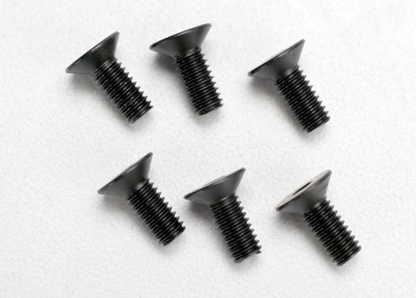 Traxxas 4x10mm Flat Head Screws (6)