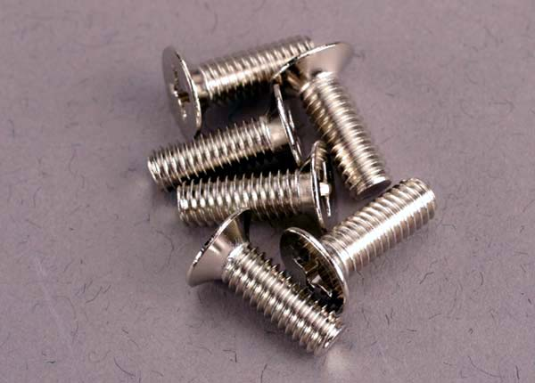 Traxxas 4x12mm Steel Screws (6)