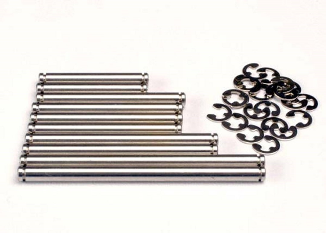 Traxxas Stainless Steel Suspension Pin Set with E-Clips (2)