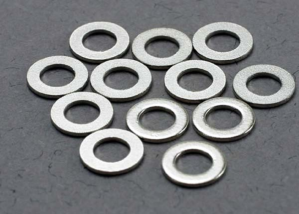 Traxxas 3x6mm Metal Washers (12)