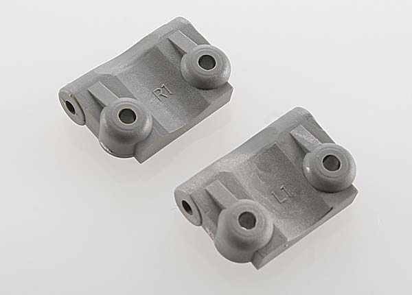 Traxxas - Mounts, suspension arm (rear) (+/- 1-degree) (l&r) (gr