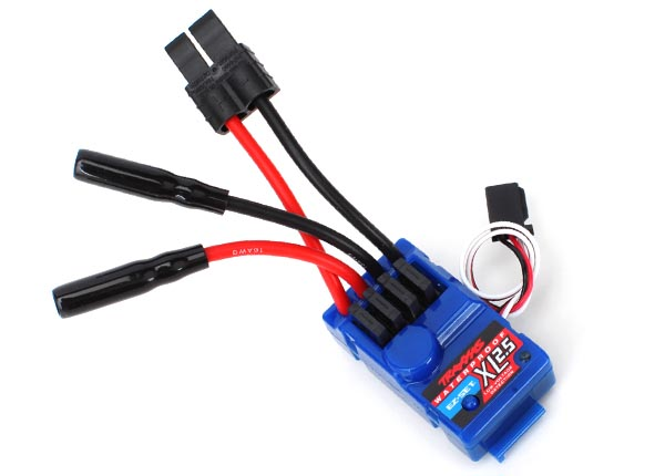 Traxxas XL-2.5 ESC w/Low Voltage Detection (Waterproof)