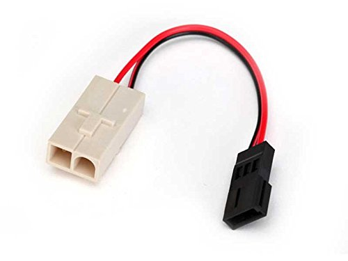 Adapter, Molex to Traxxas Receiver Battery Pack (for charging)