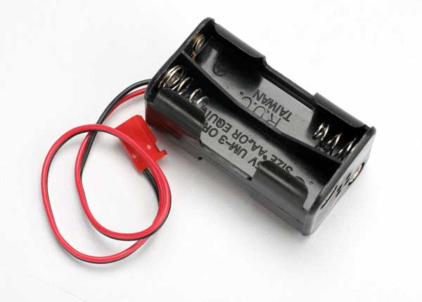 Traxxas 4-Cell Battery Holder Assembly (Futaba Connector)