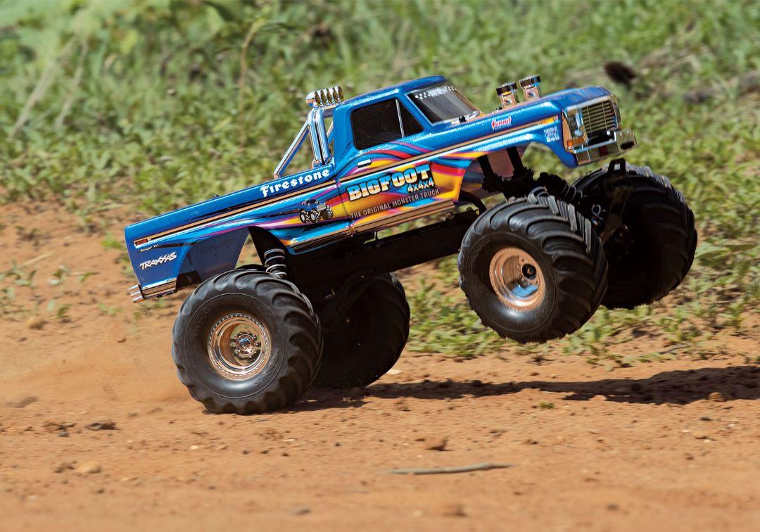 Traxxas Bigfoot No. 1 BlueX The Original Monster Truck - Click Image to Close