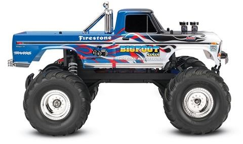 Traxxas Bigfoot No. 1 The Original Monster Truck - Flame - Click Image to Close