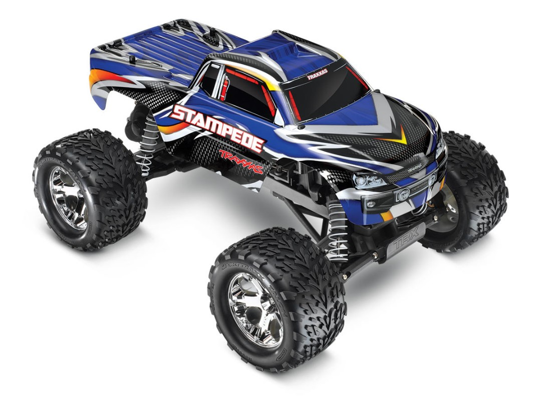 Traxxas Stampede 1/10 2wd XL-5 Blue DC Charger