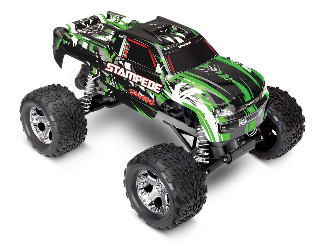 Traxxas Stampede 1/10 2wd XL-5 Green DC Charger