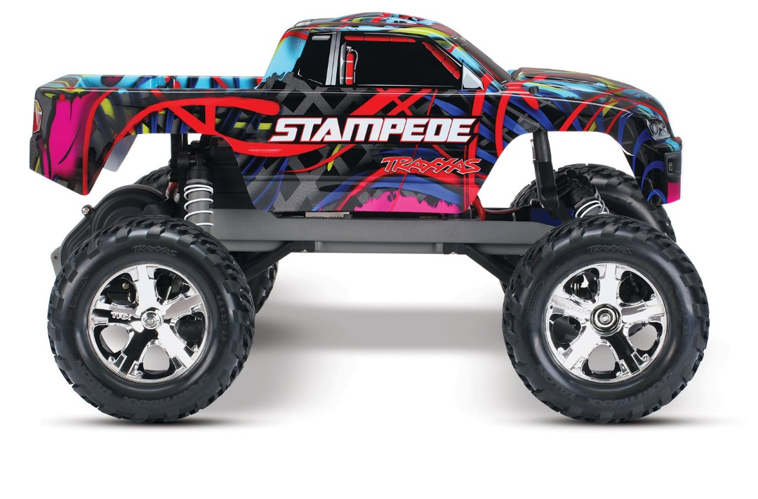 Traxxas Stampede 1/10 2wd XL-5 Hawaiian DC Charger