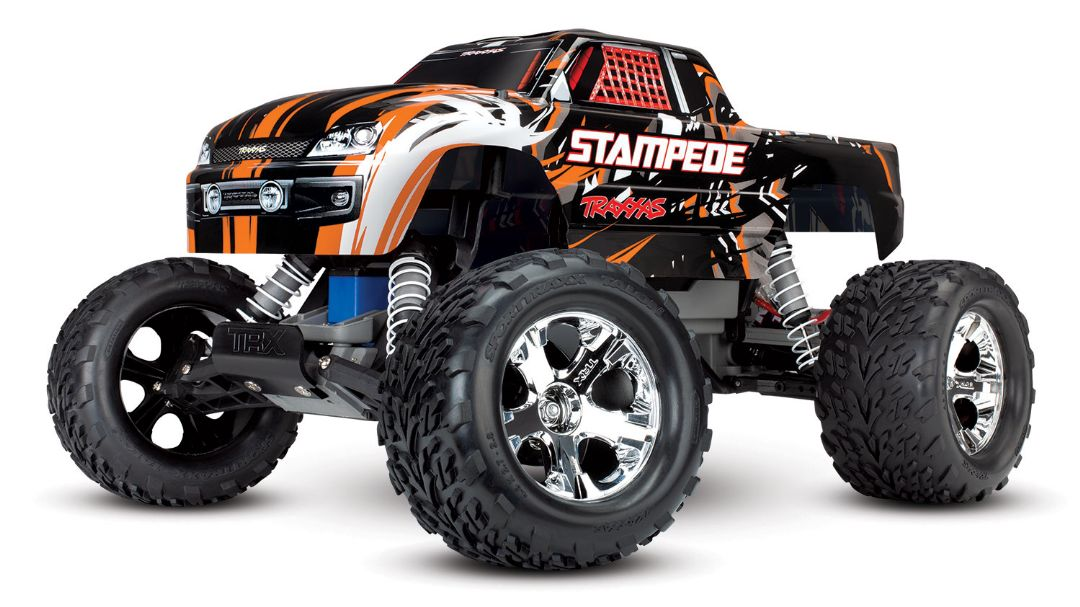 Traxxas Stampede 1/10 2wd XL-5 Orange DC Charger