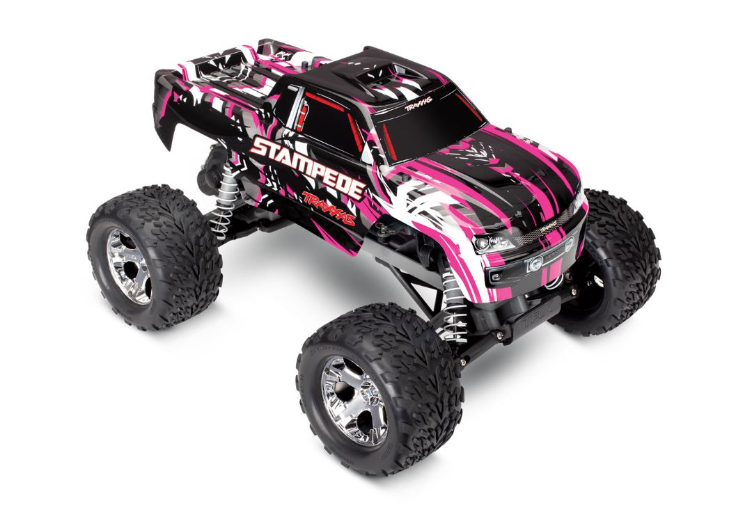Traxxas Stampede 1/10 2wd XL-5 PinkX DC Charger