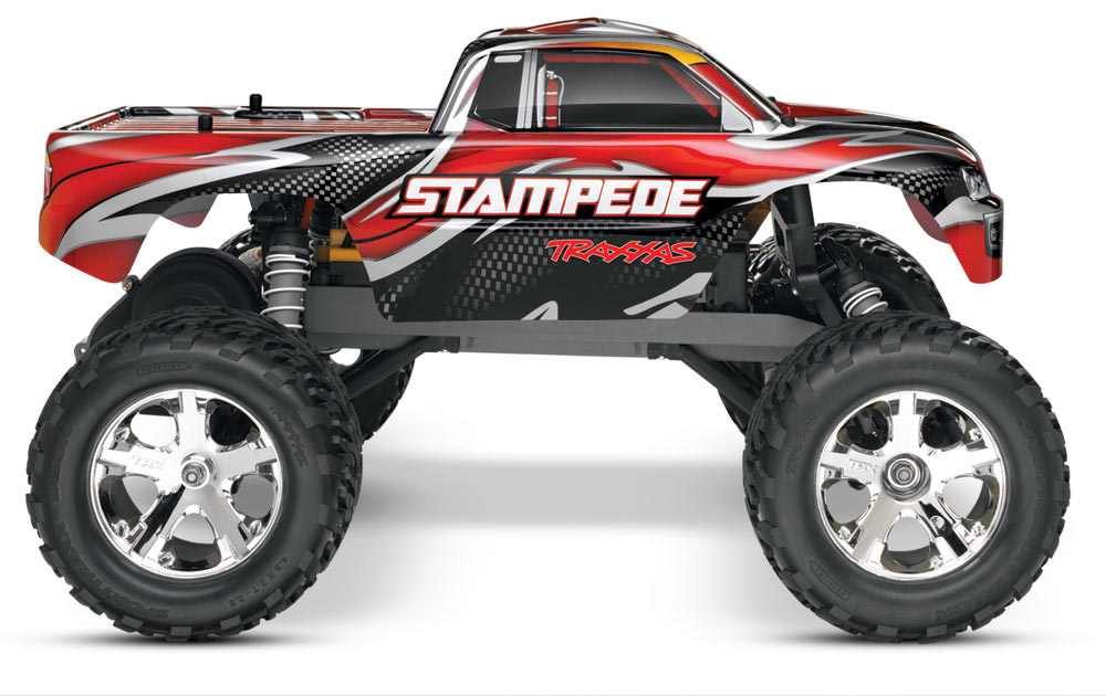 Traxxas Stampede 1/10 2wd XL-5 Red DC Charger