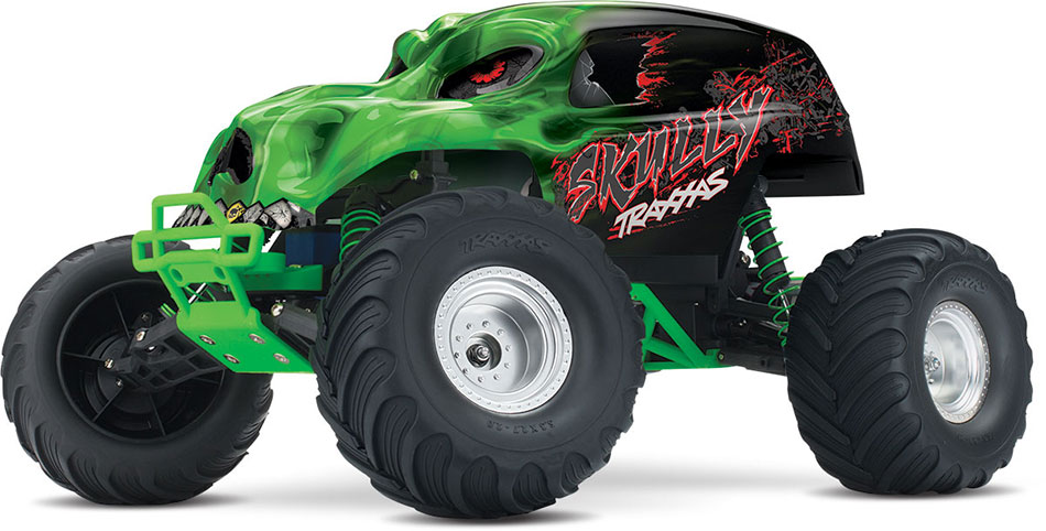 "Traxxas ""Skully"" 1/10 RTR Monster Truck Green"