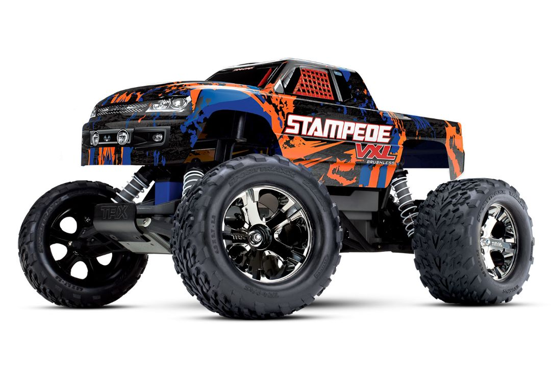 Traxxas Stampede VXL 1/10 RTR 2WD Monster Truck - Orange