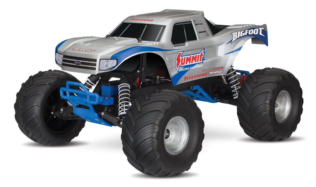 Traxxas Bigfoot Summit 1:10 Scale 2WD Monster Truck - Silver