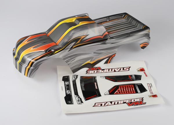 Traxxas Body, Stampede VXL, ProGraphix (replacement for the pain